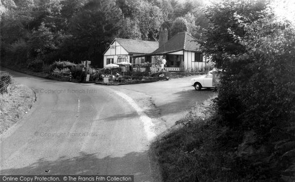Ribbesford, the Lido Café c1965