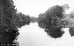The River c.1965, Ribbesford