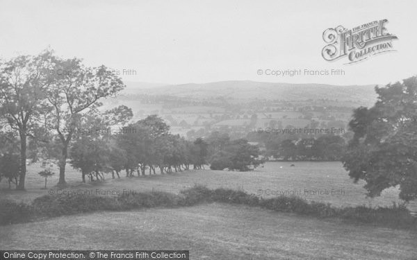 Photo of Ribble Valley, The View From Greendale Hotel 1921