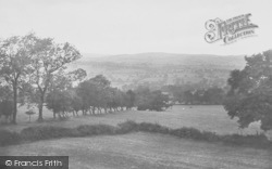 The View From Greendale Hotel 1921, Ribble Valley