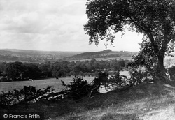 The View From Rimington Road 1921, Ribble Valley