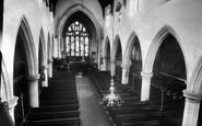 Ribchester, Church interior c1960