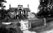 Ribchester, the Almshouses c1960