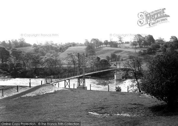 Ribchester, the New Bridge c1955