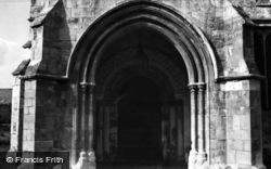 Riccall, Church, Norman Doorway c.1955