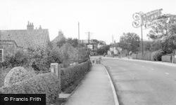 Riccall, Main Street c.1955