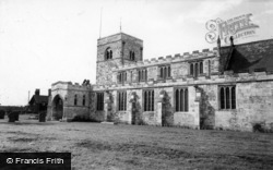 Riccall, Parish Church Of St Mary c.1955