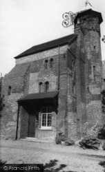 Riccall, The Vicarage c.1955