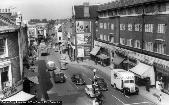 Richmond, Hill Street c1963