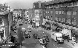 Richmond, Hill Street c.1963