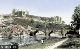 Richmond, the Castle and the Bridge 1893
