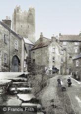 Richmond, the Castle Keep 1908