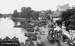 View From The Bridge 1899, Richmond