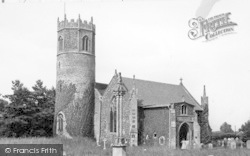 Inferior, St Mary's Church c.1955, Rickinghall