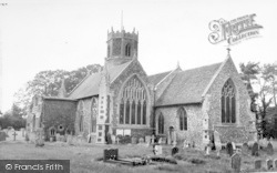 Inferior, St Mary's Church c.1965, Rickinghall