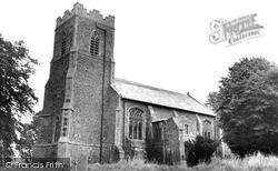 Superior, St Mary's Church c.1965, Rickinghall