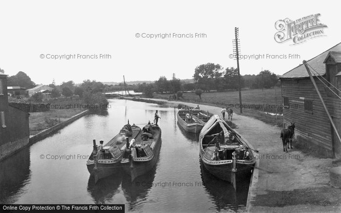 Rickmansworth, The Grand Junction Canal 1921