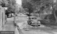 Rickmansworth, the Splash, Bury Road c1955
