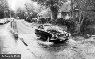 Rickmansworth, Water Splash c1965
