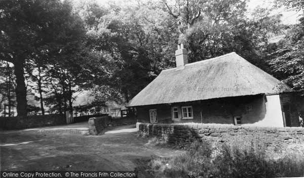 Riddings, Thatched Cottage, Spring Road c1960