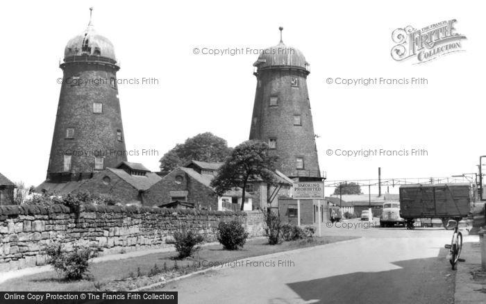 Riddings, the Mills c1960
