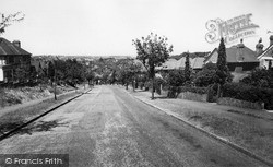 Riddlesdown, Coombe Wood Hill c.1955