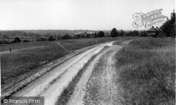 Riddlesdown, The Common c.1955