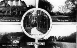 Rievaulx Abbey, Composite c.1955, Rievaulx