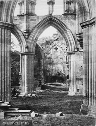 Rievaulx Abbey, Vestry c.1867, Rievaulx