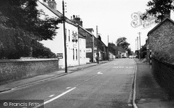 Main Road c.1965, Rillington