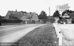 Malton Road And The School c.1965, Rillington