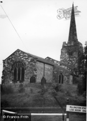Parish Church c.1955, Rillington