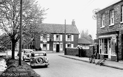 Post Office Corner c.1955, Rillington