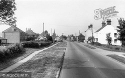 Scarborough Road c.1960, Rillington
