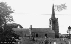 St Andrew's Church c.1960, Rillington