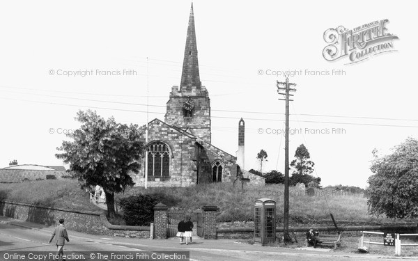 Rillington, the Parish Church c1960