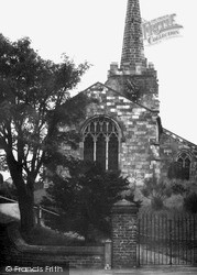 St Andrew's Church c.1965, Rillington