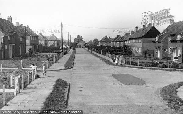 Rillington, the Council Houses c1960