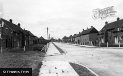 Woodlands Road c.1955, Rillington