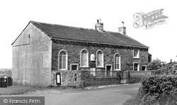 Martin Top Congregational Church c.1955, Rimington