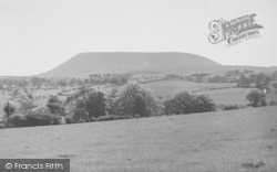 Twiston And Pendle Hill c.1955, Rimington