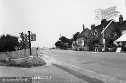 Entrance To The Village c.1955, Ringmer