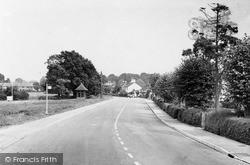 Main Road Looking East c.1955, Ringmer