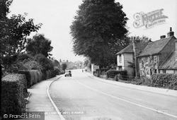 Main Road Looking West c.1955, Ringmer