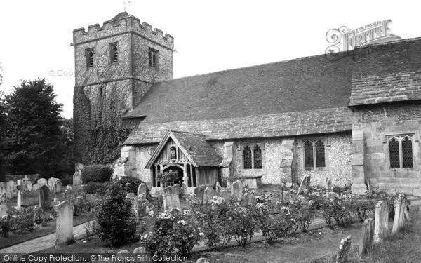 Ringmer, the Church of St Mary the Virgin c1955