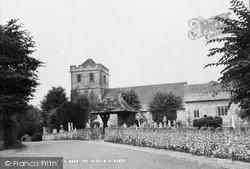 The Church Of St Mary The Virgin c.1955, Ringmer