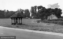 Village Green And Pump c.1955, Ringmer