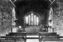Ringmore, Church Interior 1907