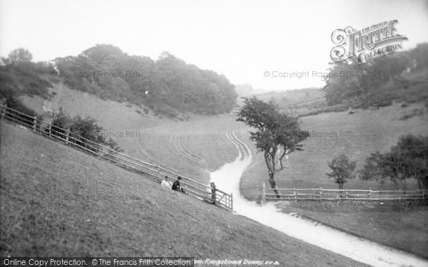 Photo of Ringstead, Downs 1901