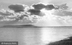 Ringstead, Sunset Over Portland c.1955